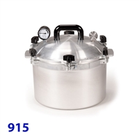 All American 15 1/2 Quart Pressure Canner Model 915