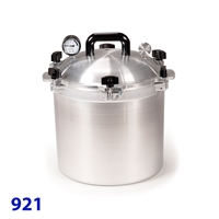 All American 21 1/2 Quart Pressure Canner Model 921