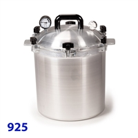 All American 25 Quart Pressure Canner Model 925
