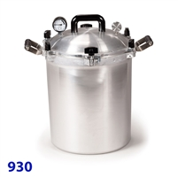 All American 30 Quart Pressure Canner Model 930