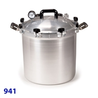 All American 41.5 Quart Pressure Canner Model 941