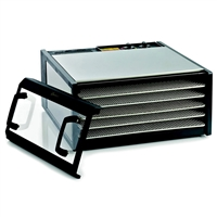 Excalibur 5 Tray Stainless Steel Dehydrator