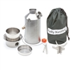 Stainless Steel Base Camp Kelly Kettle Complete Kit