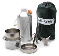 Aluminum Base Camp Kelly Kettle Complete Kit