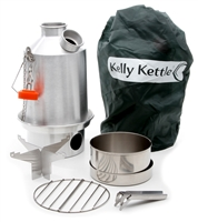 Aluminum Scout Kelly Kettle Complete Kit