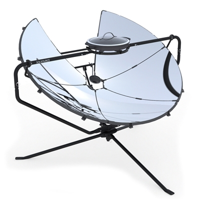 Solsource Parabolic Solar Cooker, Grill and Stove