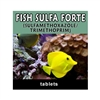 Fish Sulfa Forte - 800mg of Sulfamethoxazole and 160mg of Trimethoprim.