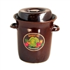 TSM Harvest 5 Liter Fermenting Crock Pot with Crock Stomper
