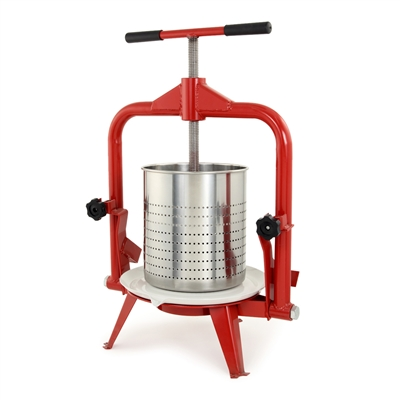 14L Deluxe Stainless Steel Grape Press