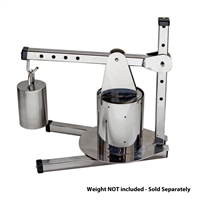 TSM Deluxe Stainless Steel Dutch Cheese Press