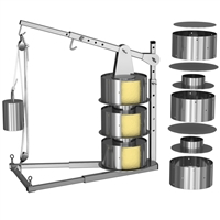 TSM Extension Kit for Deluxe Stainless Steel Dutch Cheese Press