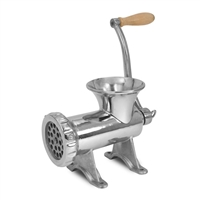 TSM Stainless Steel #22 Manual Meat Grinder