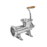 TSM Stainless Steel #32 Manual Meat Grinder