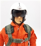 1/5 - 1/6 Helicopter RC Pilot Figure Orange