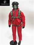 1/4.5 - 1/4 Modern Jet RC Pilot Figure (Red/ White)