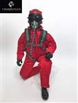 1/4.5 - 1/4 Modern Jet RC Pilot Figure (Red)