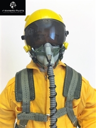 1/4.5 - 1/4 Modern Jet RC Pilot Figure (Yellow)