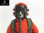 1/7 - 1/8 Modern Jet RC Pilot Figure (Orange)