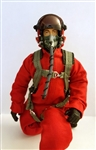 1/7 - 1/8 Modern Jet RC Pilot Figure (Red)