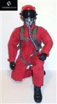 1/5 - 1/6 Modern Jet RC Pilot Figure (Red)