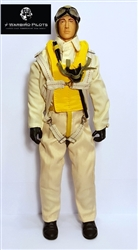1/7 - 1/8 WWII US Navy RC Pilot Figure
