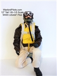 1/5 - 1/6 WWII American USAAF RC Pilot Figure