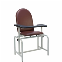 Winco 2573 Phlebotomy Chair - Padded Seat