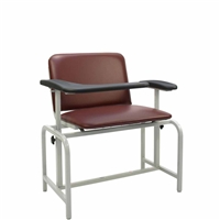 Winco 2575 XL Phlebotomy Chair - Padded Seat