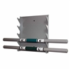 Ideal 27.300M Stainless Steel Weight Bar Storage Rack