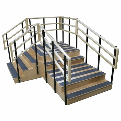 Bailey Model 4535 Bariatric Convertible Exercise Stairs