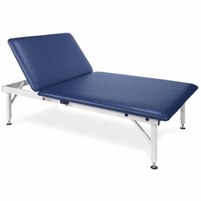 Armedica AM643 Manual Hi-Lo 4' x 7' Mat Table with Back Rest