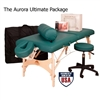 Oakworks Aurora Massage Table Packages