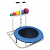 Ideal Rebounder Adjustable Angle w/Handle