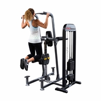 Body Solid Pro Select Weight Assisted Chin Up & Dip Machine