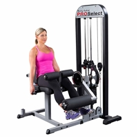 Body Solid Pro Select Leg Extention & Leg Curl Machine