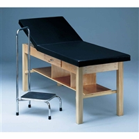 Bailey Treatment Table - Adjustable Back, Shelf & Drawer