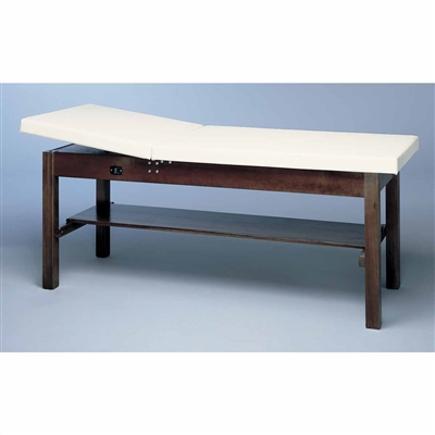 Bailey Treatment Table - Adjustable Back & Shelf