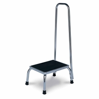 4230 Chrome Foot Stool with Handle