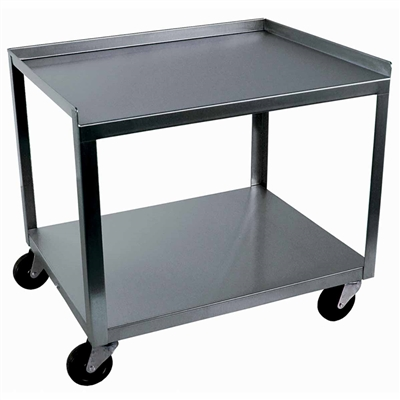Ideal MC221 Stainless Utility Cart - 2 Shelf