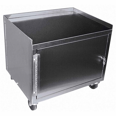 Ideal MCC221 Stainless Utility Cabinet Cart