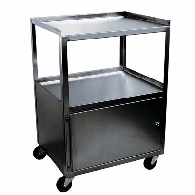 Ideal MCC321 Stainless Utility Cabinet Cart