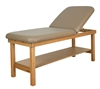 Oakworks Seychelle Flat Top Massage Table with Back Rest