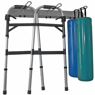 Ideal RR31 Crutch & Roll Storage Rack