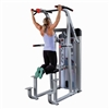 Body Solid Pro Club Line Series II Assisted Chin & Dip Machine