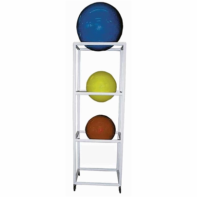Ideal SR30 PVC Therapy Ball Storage Rack - 4 Balls