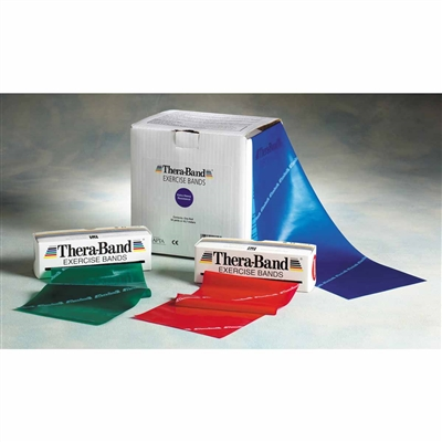 TheraBand Professional Latex Resistance Banding - 50 yds