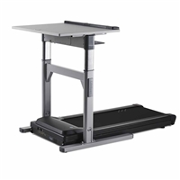 TR 1200-DT7 Electronic Adjust Standing Desk with 2.25 hp Treadmill