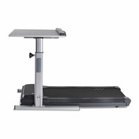 TR 5000-DT5 Manual Adjust Standing Desk with 3 hp Treadmill