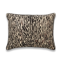 Elitis Tiger CO 108 01 02.  Linen tiger stripe throw pillow.  Click for details and checkout >>