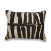 Elitis Zebra CO 117 01 02.  Linen zebra stripe throw pillow.  Click for details and checkout >>